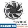 Cooling fan,axial flow fan ,tube axial fan, exhaust fan, wall exhaust fan THC200HB