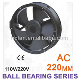 HC cooling fan axial flow fan 220*60 AC 110V/220V