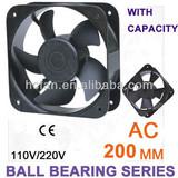 HC cooling fan axial flow fan 200*60 AC 110V/220V
