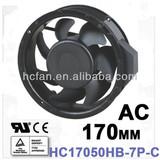 HC cooling fan axial flow fan 170*50-7P AC 110V/220V