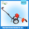 wheel Multi-brush cutter,long pole saw,hedge trimmer,sweeper