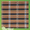 Vertical bamboo woven roller blinds