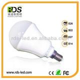 Emergency 10w samsung5630 high efficiency led bulb light with battery