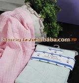 BB021-Waffle Baby Blanket
