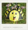 Bee Personalized Animal Shape White Kids Umbrella