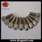 wholesale most competitive price titanium tapered head screw
