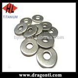 wholesale M5 titanium gr5 flatwasher