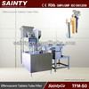 TFM-50 Automatic Effervescent tablet tube filling machine/tube sealing and closing machine