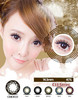 New style contact lens big eye contact lenses cute case