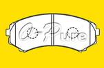 Hot Brake Pad for Mitsubishi Pajero o-pure less metal mitsubish brake pad OE LAY3-33-28Z hot seller