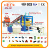 Best performance and bargain price!Hongfa QT4-15D automatic cement brick making machine with hydraulic equipments