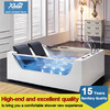 2014 glass whirlpool bathtub with massage