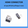 19P HDMI A Type DIP Receptacle Connector