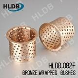 Flanged brass bushing