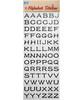 PVC Alphabet Sticker