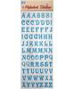 PVC Alphabet Stickers