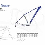 New Design Carbon Fiber Mountain Bicycle Frame/Carbon Fiber Bicycle Frame/ Carbon Fiber Bike Frame