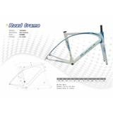 Carbon Fiber Bicycle Frame/Carbon Fiber Bike Frame/Carbon Fiber Road Bike Frame(R001)