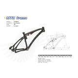 Carbon Fiber MTB Frame/Carbon Fiber Suspension Mountain Bike Frame/Dongguan 26'' Frame (JXYM010)