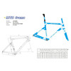 New Design Carbon Fiber Road Bicycle Frame/Cycling Bicycle Frame (JXYR008)