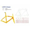 New Design Carbon Frame/Chinese Fiber Toray Standard High Quality Bicycle Part Road Frame (JXYR011)