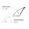 Bicycle Frame/Bike Parts/New Design Carbon Fiber Mountain Bicycle Frame/Er27.5 Frame/Mountain Bicycle Frame 650b (JXYM007)