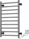 Wall Mount Electric Towel Warmer in Bright Finish (KMA69)