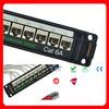 CAT6A/CAT6/Cat5e Shielded/Unshielded Network Patch Panel