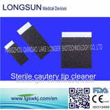 adhesive surgical cleaning sponge pad