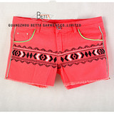 Women Jeans Shorts/Pants with Embroidery (BG06)