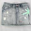 Women Short Denim Skirt (BG04)