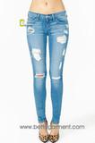 Ripped Skinny Women Denim Jeans