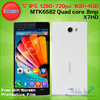 Iocean X7 HD Smartphone 5.0 Inch LTPS OGS Screen MTK6582 Android 4.2 OTG custom android mobile phone