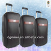 hot sale PU travel luggage ,durable pu trolley luggage