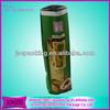250g Aluminum Green/black tea Pakage/Plastic Fim Roll/Opp Plastic Flm Rolls/Side Gusset Aluminum Foil Tea Bag