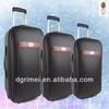 hot sale PU travel luggage ,durable pu trolley luggage