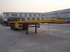 3axle Container Flat Bed Semi Trailer/Transportation Trailers