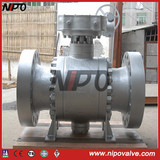 Cast Steel Trunnion Mounted Flanged Ball Valve (Q347N)