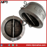 Externally-Positioned Wafer Double-Disc Swing Check Valve (H76)