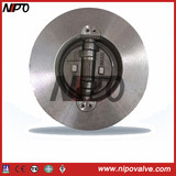 Built in Double-Disc Wafer Swing Check Valve (H76-Retainerless)