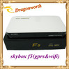 Digital Satellite Receiver, Skybox F5 Support Cccam, GPRS, WiFi, Popular in UK and Malaysia