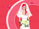3D Wedding Invitation Card (3D080)