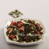 Mixed Fruit Tea with Triangle Crystal Tea Bag Serving