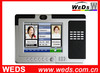 Electronic RFID Time Attendance Machine with 8'' LCD