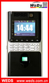 Multi Languages Biometric Time Recorder with GPRS/CDMA