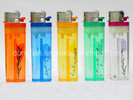 Disposable Gas Lighter with Flower (DL-003A)