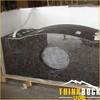 Tan Brown Granite Countertop for Kitchen