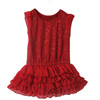 Girls Dress, Sequins Embroidered Dress, Cake Dress (KD-010)