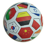 Soccer Ball, Size 5, Rubber Material, Grain Surface (B01505)