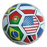 Soccer Ball/Promotion Ball, Flag Printing, PVC Cover, 32 Panel, Machine-Stithing (B01330)